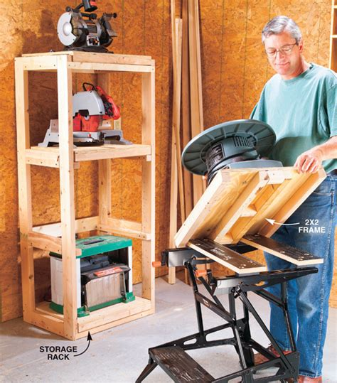 power tool bench benchtop tool system popular woodworking magazine