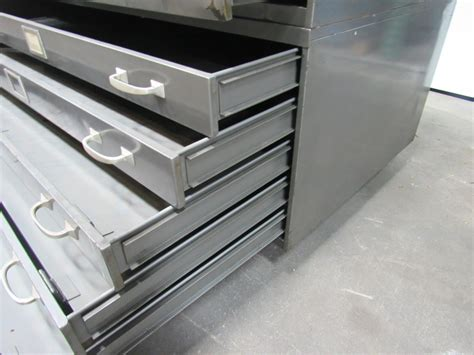 blueprint drawer republic 10 drawer architect blueprint flat files file cabinet 45 quot x28 quot x41 quot ebay