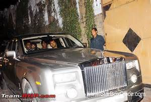 Srk Rolls Royce And Their Cars Page 52 Team Bhp