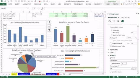 Statistics In Excel Excel 2013 Statistical Analysis 07 Subtle Chart Junk