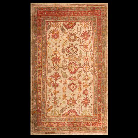Decorative Carpets by Antique Oushak Rug 18473 Turkish Decorative 6 10 X