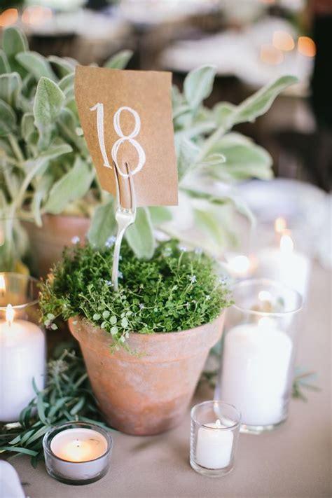unique ways   potted plants   wedding page
