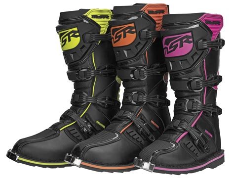 how to size motocross boots msr motocross boot vxiir all colors all sizes ebay