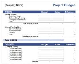 It Project Budget Template 10 Excel Budget Templates