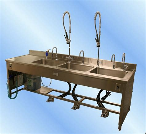 adjustable height work reprocessing sink tbj inc