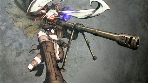 anime wallpaper hd gun anime sniper girl wallpaper