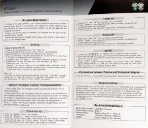 Kt Dot1 User Manual Smartclima