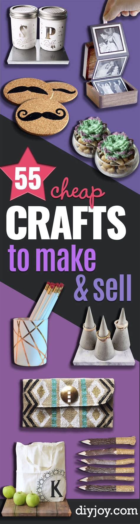 craft projects to make and sell 55 cheap crafts to make and sell gaver budget og gaveideer