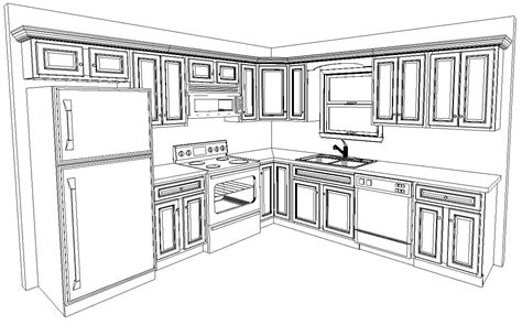 10x10 kitchen floor plans 10 x 10 kitchen layout are included in the standard 10 x