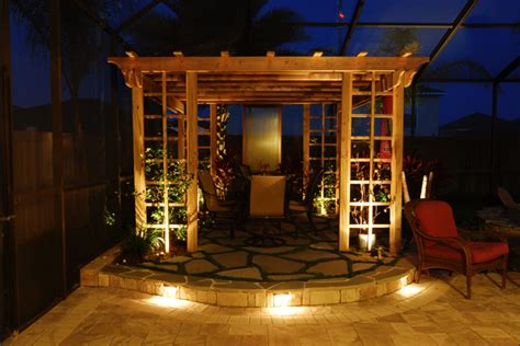 Outdoor Lighting Ideas For Arbors And Pergolas 972 245 0640 Outdoor Pergola Lighting Ideas