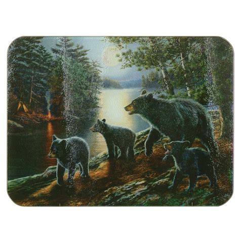 Tempered Glass Easybear tempered glass cutting board