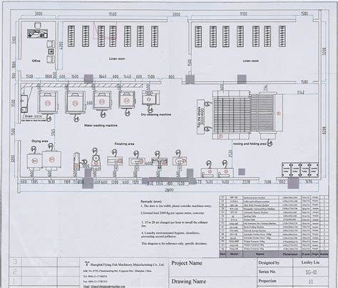 layout of a laundry big laundry plant layout shanghai flying fish machinery
