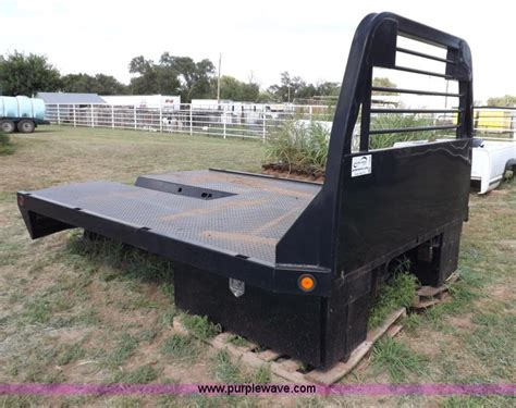 cm headache rack cm manufacturing flat bed no reserve auction on