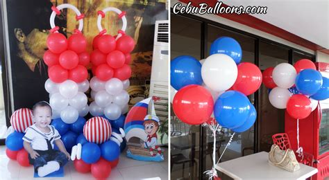 nautical themed balloons nautical sailor cebu balloons and supplies