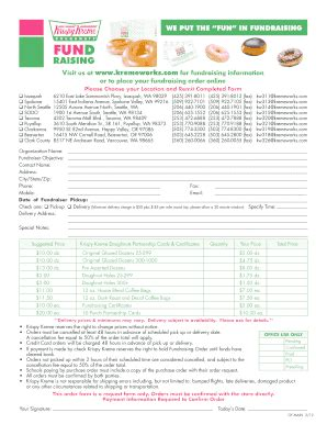 printable krispy kreme order forms krispy kreme partnership card fill online printable