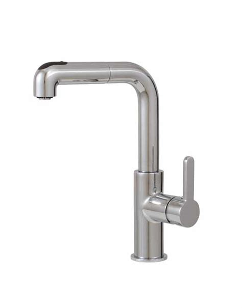 aquabrass pull out dual mode kitchen faucet royal