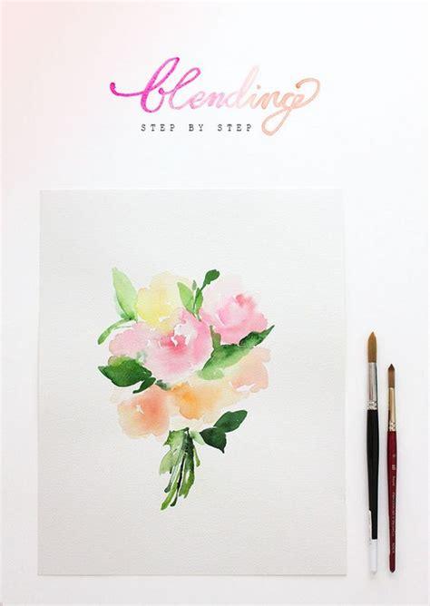 watercolor tutorials on pinterest how to blend watercolors a tutorial art design