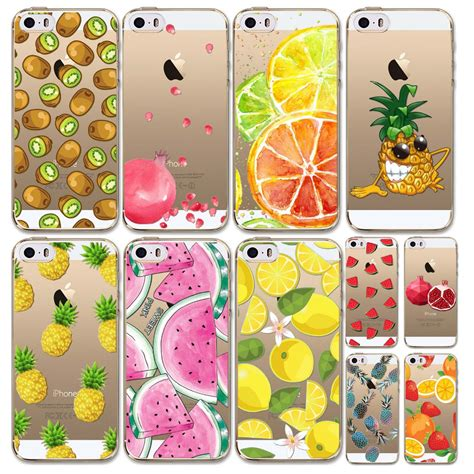 Fruit For Iphone 4 4s 5 5s Se 6 6s 6 7 9 cover for iphone 5 5s se 4 4s 5c fruits pineapple