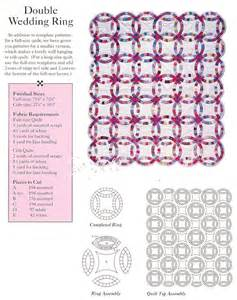 double wedding ring quilt circles curves quilt sewing