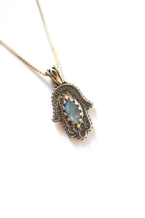 hama necklace rina store silver hamsa necklace
