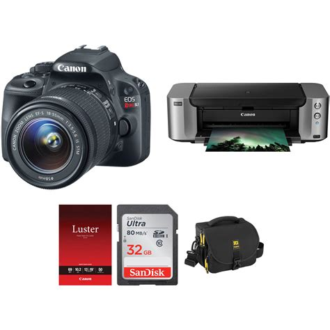 canon eos rebel sl1 dslr canon eos rebel sl1 dslr kit with 18 55mm stm lens and