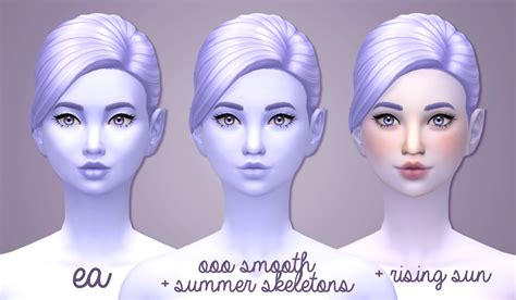 sims 3 cc skin color my sims 4 blog 16 skin colors for all ages by noodlescc