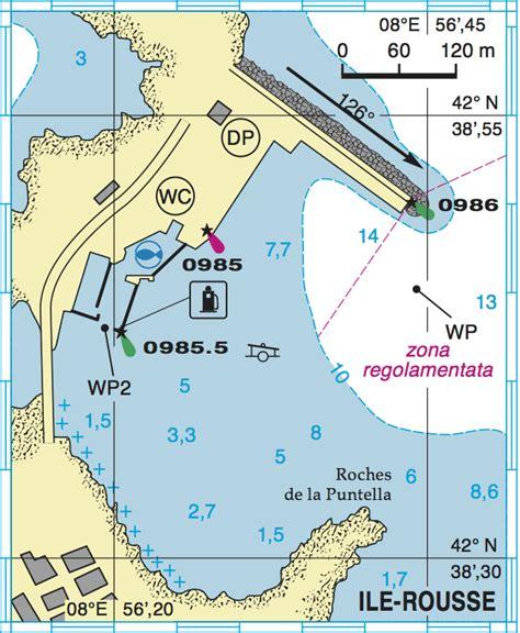 porti della corsica ile rousse descrizione dell approdo informazioni e