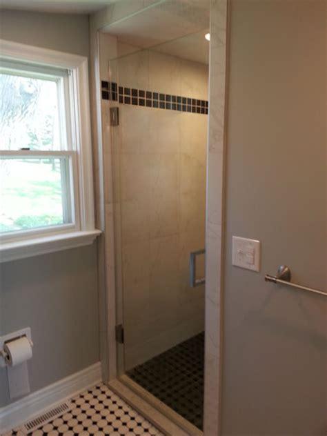 swing shower doors single swing frameless shower doors creative mirror shower