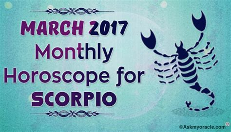 Scorpio Monthly Horoscope by April 2017 Pisces Monthly Horoscope