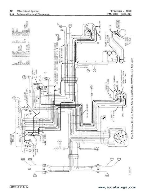 deere 4000 wiring diagram wiring diagram with