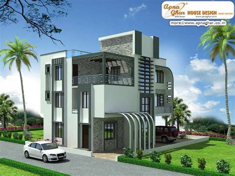 3 floor house 4 bedroom modern triplex 3 floor house design area