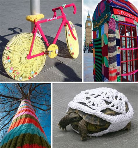 knit bombing yarn bombs 51 victims of knitted graffiti urbanist