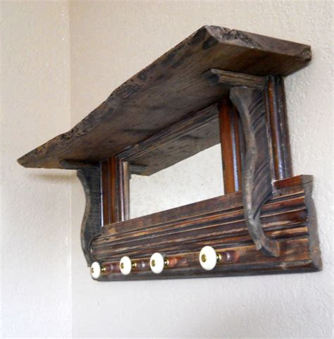coat rack with mirror and shelf pin by sara evans on home decor pinterest