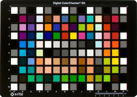 x rite color checker x rite colorchecker digital sg image science