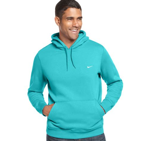 Sweater Hoodie Nike Bwh nike classic pullover fleece hoodie in blue for lyst