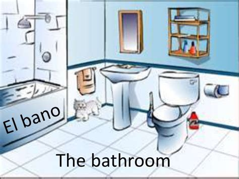 the bathroom el bano