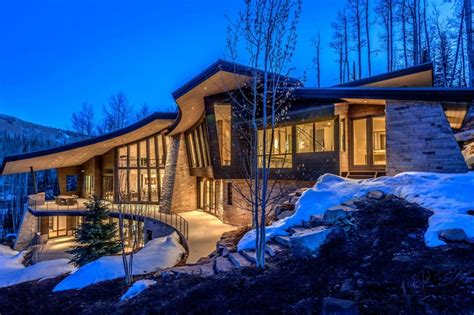 Modern Home Design Utah by 8 Amazing Mountain Contemporary Homes In Utah Summit