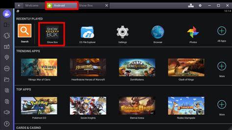 bluestacks on iphone showbox for pc guide tested working on windows 7 8 10