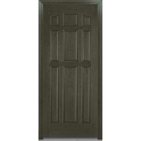 Milliken Millwork 36 In X 80 In Severe Weather Left Hand Exterior Door Weather