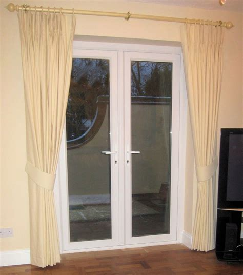 how to hang curtains on french doors decorative french door curtains designs and buying tips