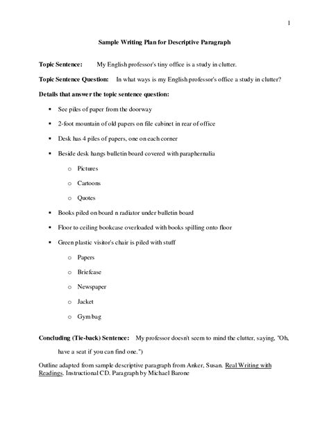 Outline Descriptive Essay by College Essays College Application Essays What Is A Descriptive Essay Outline