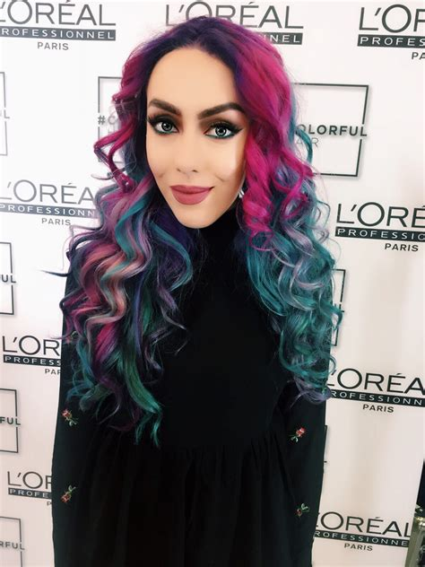Loreal Hair mermaid hair by l oreal colourful mermazing