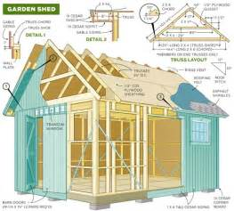 Backyard Building Plans The Diy Garden Shed Plan Shed Diy Plans