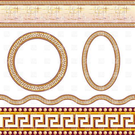 greek pattern frame greek border and frame patterns 7985 borders and frames