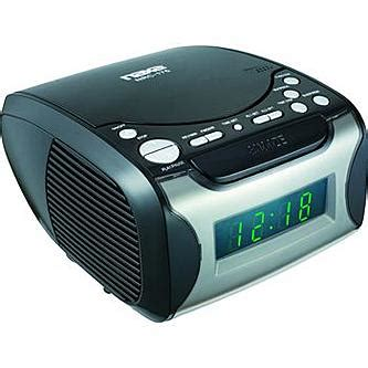 naxa 97076734m digital alarm clock with digital tuning am fm radio cd player