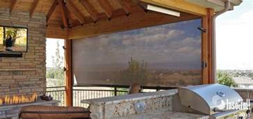 Lutron Blinds Patio Shades Driven By Lutron Insolroll