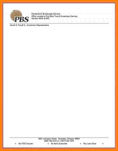 10 Letterhead Templates Word 2010 Letter Flat Business Letterhead Template Word