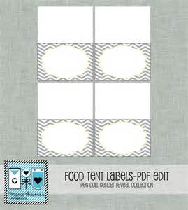 Food Tent Cards Template Food Tent Card Template Free Images