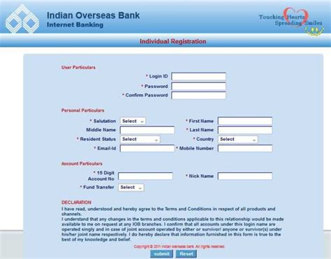 indian overseas bank netbanking indian overseas bank net banking application can