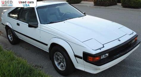 Toyota Supra For Sale In Usa For Sale 1985 Passenger Car Toyota Supra San Jose